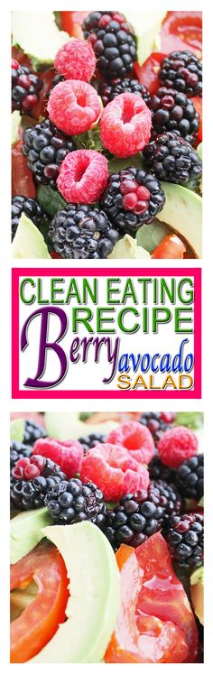 Enjoy an easy healthy meal that is fantastic for the clean eating diet plan. Quick Healthy Meals, Healthy Diet Recipes, Easy Healthy Breakfast, Healthy Food, Clean Eating Diet Plan, Clean Eating Recipes, Recipe Berry, Avocado Recipes, Avocado Salad