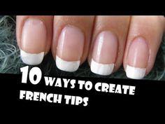 10 façons de se faire une manucure française à la maison! - Trucs et Astuces - Trucs et Bricolages