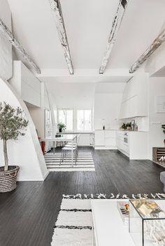 Dreamy attic apartment in Stockholm Daily Dream Decor