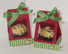 Super Cute Ferrero Rocher Chocolate Holder « stamp with anna