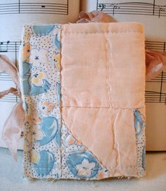 Handmade Needle Book Needle Case from Vintage by sewmanyroses