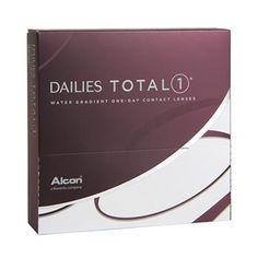 """""""Ich benutze die Kontaktlinsen jeden Tag von etwa morgens 8 Uhr bis zum Bettgehen. Ich habe das Produkt schon weiterempfohlen, weil ich so begeistert bin. Super Tragekomfort. Man spürt sie so gut wie nicht. Selbst nach Stunden am PC auf Arbeit, kein Problem."""" - Kontaktlinsen Dailies Total1"""