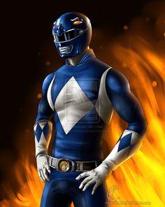 Blue Power Ranger by Know-Kname.deviantart.com on @DeviantArt