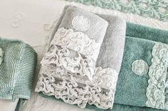 #danieladallavalle #artepura #fw15 #collection #white #green #bed #towel