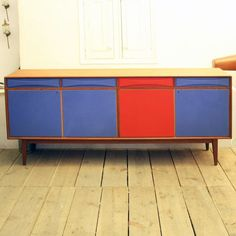 Coloured Sideboard Contemporary Cabinets, Sideboard, Buffet, Sweet Home, Dining Room, Storage, Furniture, Home Decor, Ideas