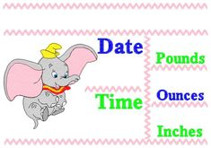 Dumbo Announcement Pillow English 2 by EmbroiderByMADELEINE on Etsy Pillow Embroidery, Marketing And Advertising, Announcement, Embroidery Designs, Handmade Items, English, Pillows, Sewing, Digital