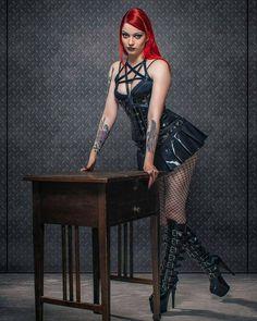 """646 Likes, 6 Comments - Metal, Goth & Alt Girls (@metalgothaltofficial) on Instagram: """"Follow @obscure.raven - #gothic #goth #gothicmodel #gothicfeatureme #darkness #dark #darkgirl…"""""""