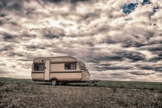 Free Image on Pixabay - Caravan, Dramatic, Dark, Meadow Bald Man, Ulsan, Home Network, Mobile Home, Free Pictures, Caravan, Recreational Vehicles, Image, Things To Sell