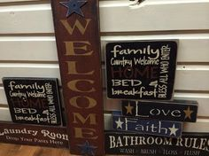 long country wood signs - Google Search