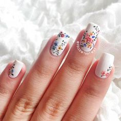 Have you discovered your nails lack of some modern nail art? Yes, lately, many girls personalize their nails with lovely … Heart Nail Designs, Flower Nail Designs, Nail Art Designs, Nails Design, Trendy Nail Art, Cool Nail Art, French Nails, Mexican Nails, Nails Yellow