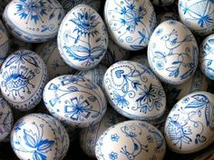 ..typical Czech Easter eggs