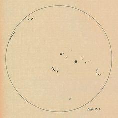 Galileo's Sunspot Drawings.        (speciesbarocus)