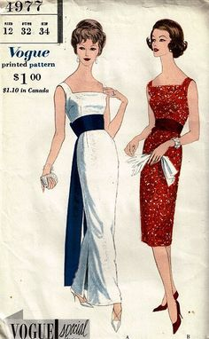 1950s Evening dress or gown