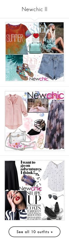 """""""Newchic II"""" by fashionaddict-il ❤ liked on Polyvore featuring Nika, De Lacy, Evian, Beauty, Trendy, trend, polyvoreeditorial, topset, beauty and Dress My Cupcake"""