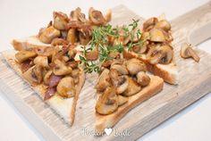 Champignons op toast - Keuken♥Liefde
