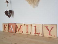 20210723_145700 Tuile, Boutique, Decorative Wooden Letters, Scrabble Letters, Painted Wood, Boutiques