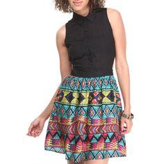 Robe Aztèque Urban Chic, Ali, Street Wear, Floral, Skirts, Collection, Fashion, Aztec Dress, Moda
