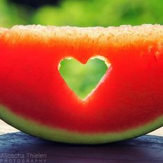 A watermelon is my favorite fruit. Thats because it is green from the outside and red as blood from the inside.
