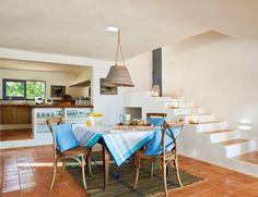 Entre azules, una casa en Formentera · ElMueble.com · Casas