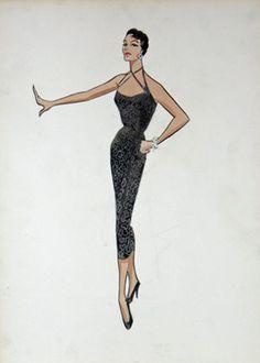 Jane Russell - by William Travilla - via mylittleboudoir.com