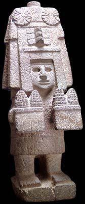 """Grupo 3: Chicomecóatl es una de las diosas mas importantes de Azteca y considerada una de las deidades más antiguas. Ella es la diosa de todo el alimento en especial del maíz. Su nombre significa """"Siete Serpiente"""". Ella también es reconocida como """"Siete Mazorcas de Maíz"""". En el momento de la conquista, ella fue honrada con templos en el centro de México. Ella se le atribuye ser la primera en hacer tortillas y panes. Ella tiene un canto escrito en su honor que revela que ella vivía en…"""