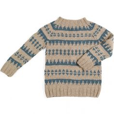 Nordic pullover – North sea green. Designer, Susie Haumann.