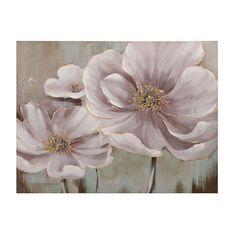 Floral Eloquence Canvas Art Print   Kirklands