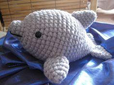 Dolphin Amigurumi Crochet Pattern by AwkwardSoul $4