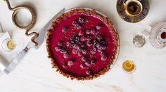 Cranberry-Lime Pie Recipe | Bon Appetit