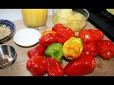 How to make an orange pineapple pepper sauce using scotch bonnet or habanero peppers. This Caribbean inspired hot sauce is full of flavor and packed with heat from super hot scotch bonnet peppers. Like most of the pepper sauces form  Jamaica, Trinidad and Tobago, Grenada, Barbados and the rest of the West Indian islands, this sauce is to be resp...