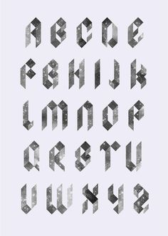 These blackletter stars take antique letterforms into the future.