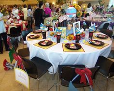 Wizard of Oz theme table (from Idelwild Baptist Holiday Tables 2012)