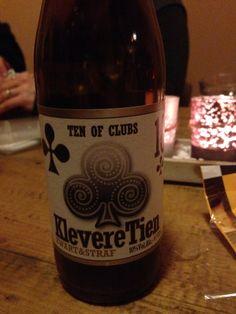 Ten of Clubs - Klevere tien. 33cl, 10% Hobbybrouwerij Het Nest.