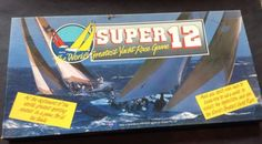 Vintage-Board-Game-Super-12-Worlds-Greatest-Yacht-Race-Game-1986-Complete-VGC