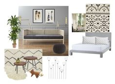 """LA Guest Room"" by inbardan ❤ liked on Polyvore"