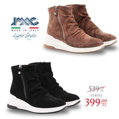 IMAC Süet botlar konforlu tabanı ile spor ayakkabı rahatlığıda, bu konfora indirimle sahip olabilirsiniz. 🇮🇹 Made in Italy. 📦 Ücretsiz kargo. 💳 Kredi kartına TAKSİT imkanı. Tabata, Wedges, Sneakers, Fashion, Trainers, Moda, Tabata Workouts, Wedge, Women's Sneakers