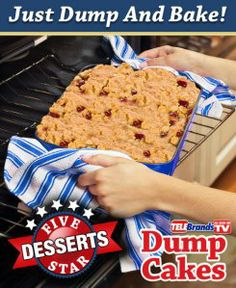 Dump Cake Reviews | Learn more about the new easy Dump Cake Recipe Book!