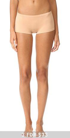 Calvin Klein Underwear Pure Seamless Boy Shorts   SHOPBOP