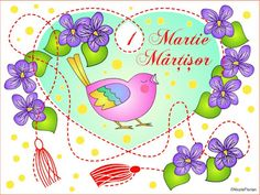 1 Martie Martisor * Desene de colorat cu Martisor * Spring coloring page Spring Coloring Pages, Free Coloring Pages, Color By Number Printable, Princess Peach, Create, Character, Image, Martie, Romania