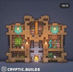 Minecraft Wall, Minecraft Images, Minecraft Cottage, Cute Minecraft Houses, Minecraft House Designs, Minecraft Blueprints, Minecraft Crafts, Minecraft Materials, Minecraft Structures