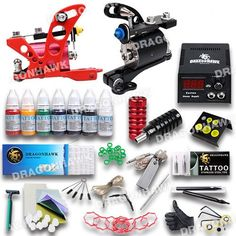 2 Machine Rotary Tattoo Kit – Dragon Tattoo Supply 1(888) 505 1833