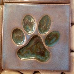 Contact me to order your specialty paw tile