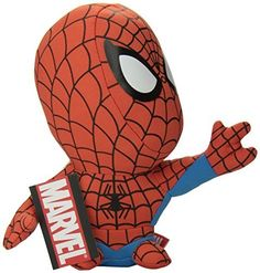 Comic Images Super Deformed Spiderman Plush Toy >>> Details can be found by clicking on the image.