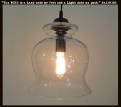 BoothBay. Light PENDANTS Large Bell with Edison Bulb