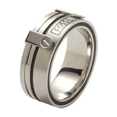 Bague homme FOSSIL : 46€  taille 21mm