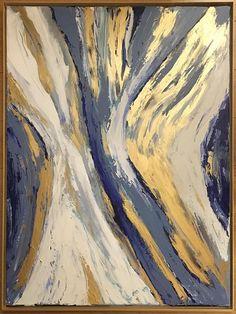 Peinture originale créée dans mon atelier, à Paris, France. 31 x 39 inches 80 x 100 cm Qualité - Toile en lin tendue sur châssis en bois. Des peintures acryliques de qualité professionnelle et médiums. Les toiles seront protégées dune couche de vernis mat avant lenvoi pour protéger de