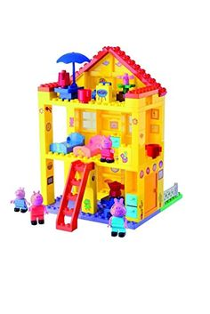 Smoby - 800057078 - La Villa de Peppa Pig - 107 Pièces