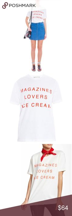 WILDFOX I Owe it to... Tshirt Size XS WILDFOX Magazines, Lovers, Ice Cream  size XS. Wildfox Tops Tees - Short Sleeve