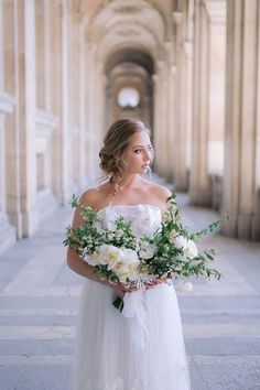 """This magical intimate wedding celebration in Paris is about marrying contemporary table art, a textured 3D embellished gown and accessories with the hotel's """"classic"""" style to create a timeless and chic atmosphere. The modern, elegant and graceful couple in a classic atmosphere captured in a fine art style that translates to a delicate and sweet memory when looking back years from today. Strictly Weddings, Unique Weddings, Luxury Wedding, Our Wedding, Embellished Gown, Celebrity Weddings, Fashion Art, Classic Style, Celebration"""