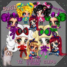 ScrapGrafikShop: CU/PU Chibi Mix